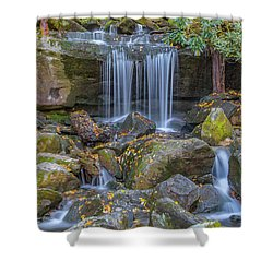 Leconte Creek Waterfall 2 Shower Curtain