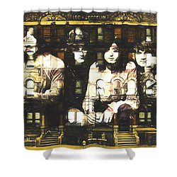 Led Zeppelin Physical Graffiti Shower Curtain