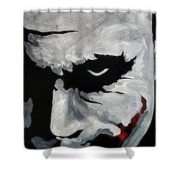 Ledger's Joker Shower Curtain