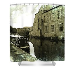 Leeds Liverpool Canal Unchanged For 200 Years Shower Curtain