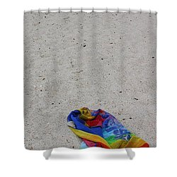 Left Behind Shower Curtain by Ed Smith
