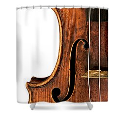 Shower Curtain featuring the photograph Left F by Endre Balogh