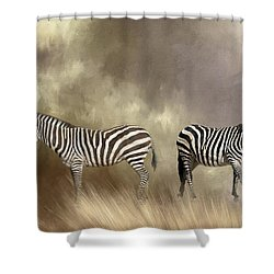 Shower Curtain featuring the photograph Left Or Right by Donna Kennedy
