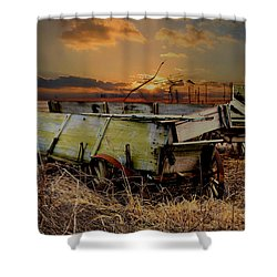 Leftovers Shower Curtain