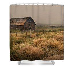 Legacy - Haynes Ranch Barn Shower Curtain
