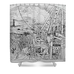 Legends Of Rig Ram Shower Curtain