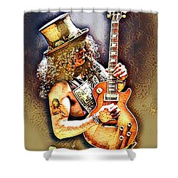 Legends Of Rock - Slash - Sweet Child Shower Curtain