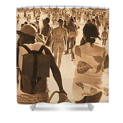 Shower Curtain featuring the photograph Legion by Beto Machado