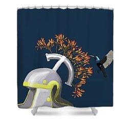 Legions Helmet Shower Curtain