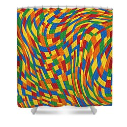 Lego Dreams Shower Curtain