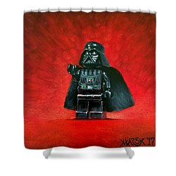 Lego Vader Shower Curtain