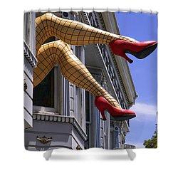 Legs Haight Ashbury Shower Curtain