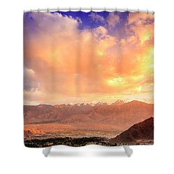 Shower Curtain featuring the photograph Leh, Ladakh by Alexey Stiop