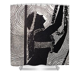 Lei Offering Shower Curtain by Hawaiian Legacy Archive - Printscapes