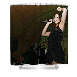 Leighton Meester Shower Curtain