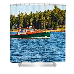 Shower Curtain featuring the photograph Leisure Time by Anthony Baatz
