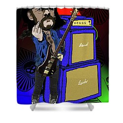 Lemmy Shower Curtain