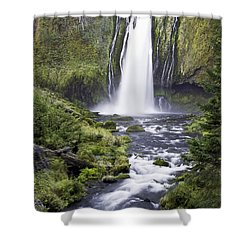 Lemolo Falls Shower Curtain
