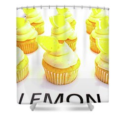 When Life Gives You Lemons Shower Curtain by Beth Saffer