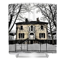 Lemon Hill Mansion - Philadelphia Shower Curtain by Bill Cannon