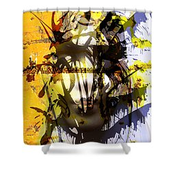 Lemon To Wounds  Shower Curtain