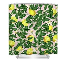 Lemonade Shower Curtain