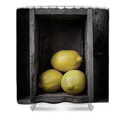 Lemons Still Life Shower Curtain