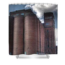 Lemp Brewery Shower Curtain by Jane Linders