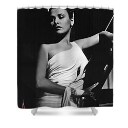Lena Horne  Circa 1943-2015 Shower Curtain by David Lee Guss