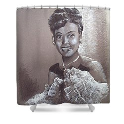 Lena Horne Shower Curtain