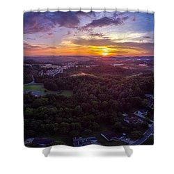 Lenoir North Carolina  Sunset Shower Curtain