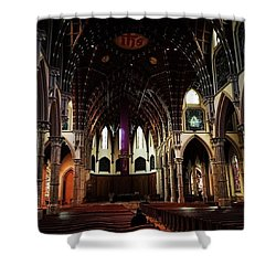 Lent  Shower Curtain by Frank J Casella