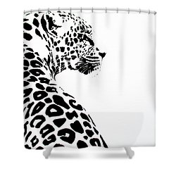 Leo-pard Shower Curtain