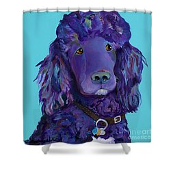 Leo Shower Curtain by Pat Saunders-White