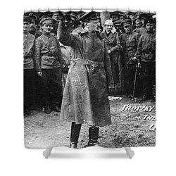 Leon Trotsky (1879-1940) Shower Curtain by Granger