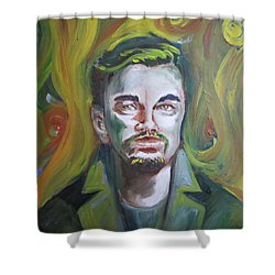 Leonardo Di Caprio Shower Curtain