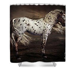 Leopard Appalossa Shower Curtain