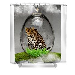 Leopard Art Shower Curtain