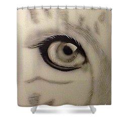 Leopard's Eye Shower Curtain