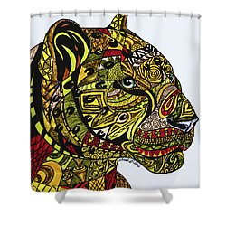 Leopards Shower Curtain