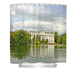 Leopoldskron Echoes To The Sound Of Music Shower Curtain