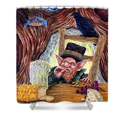 Leprechaun's Lair Shower Curtain