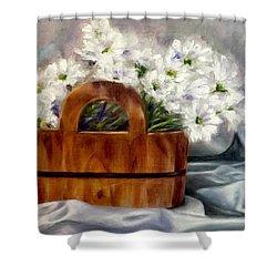 Les Fleurs D'ete Shower Curtain