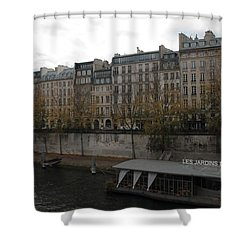 Les Jardins Du Pont Neuf Shower Curtain