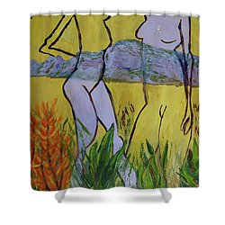 Les Nymphs D'aureille Shower Curtain