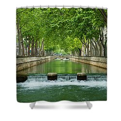 Les Quais De La Fontaine Shower Curtain