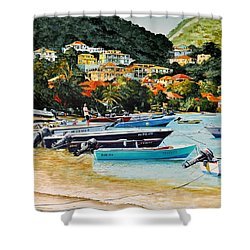 Les Saintes, French West Indies Shower Curtain