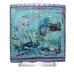 Les Sauterelles S'endorment Shower Curtain