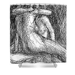 Lesbian Sketches  1 Shower Curtain