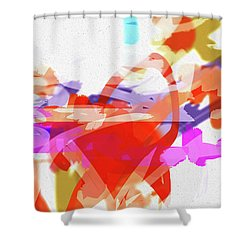 Less Form Shower Curtain